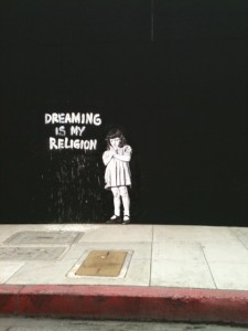 New LA Street Art! In Beverly Hills! Banksy?