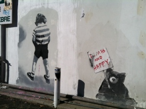 Banksy? Is that you? Street art in LA take three.