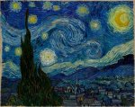 Starry night. Yeah, I went there.